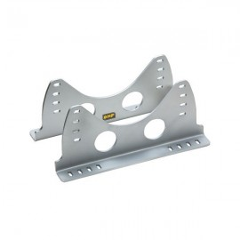 Lower Side Mounting Kit OMP Alu 6mm argt