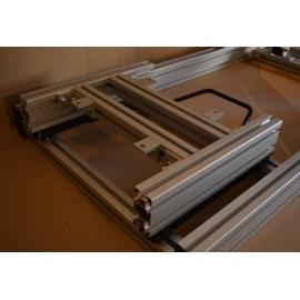 JCL Seat - fixation inférieure baquet de couleur grise