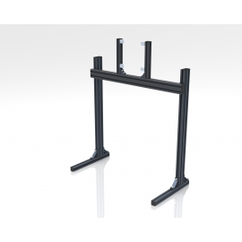 Support single screens on legs Grey or Black 19-42 inches