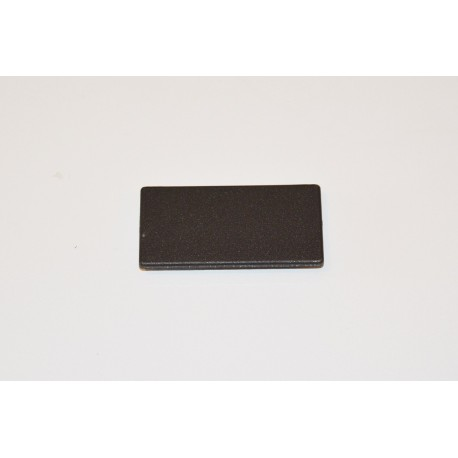 Embout de protection Noir pour profilé 80x40
