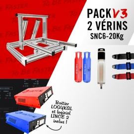 Pack V3 support cylinders