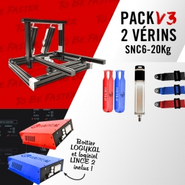 Pack V3 support vérins