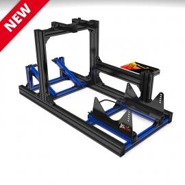 JCL SEAT BI-COLORS Noir-Bleu