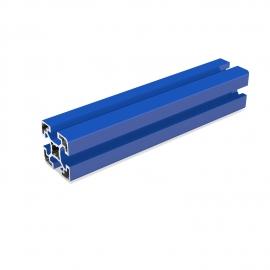 Profilé aluminium Bleu 40x40 mm