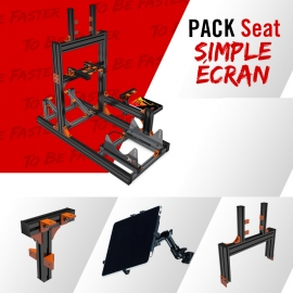 Black Pack JCL Seat Single screen