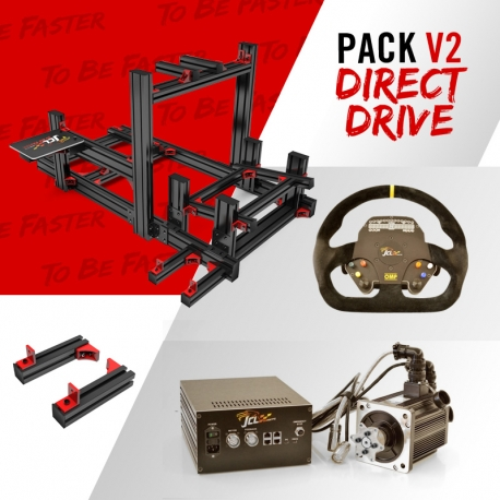 Direct Drive New V2 pack - JCL Sim Racing