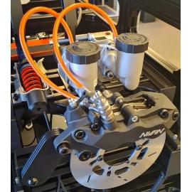 Pédaliers, boîtes de vitesses et frein à main Heusinkveld Engineering