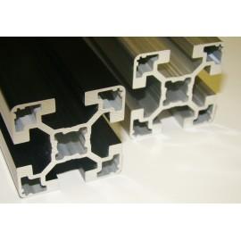 Profilé aluminum anodisé